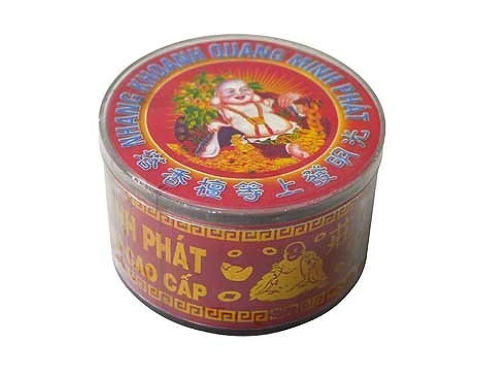 スティック引っ張る飼料Vietnam Incense ベトナムのお香【大福様ラベル渦巻き檀香】