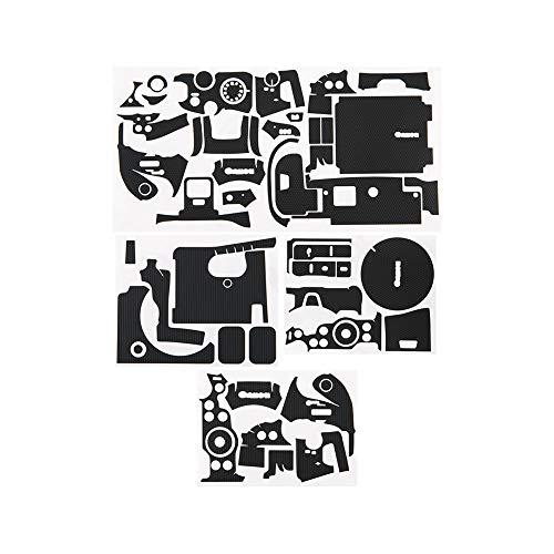 KIWIFOTOS Protector de piel para cámara Canon EOS R6, antiarañazos, antiarañazos, color negro