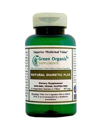 """Green Organic Supplements' Edema & Diuretic Plus, Water Retention"""