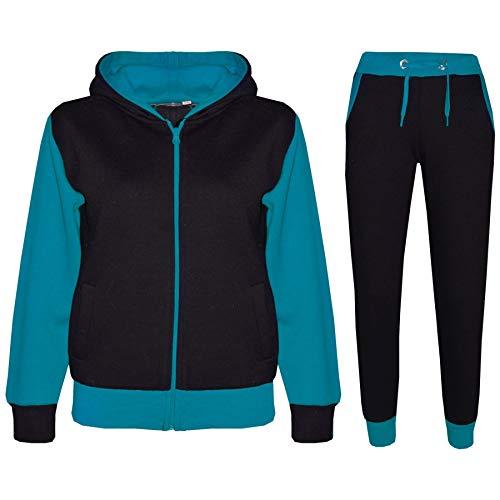 A2Z 4 Kids/® Bambini Ragazze Adios Stampare Crop Top /& Legging Set Camuffare Tuta Jogging Costume et/à 7 8 9 10 11 12 13 Anni