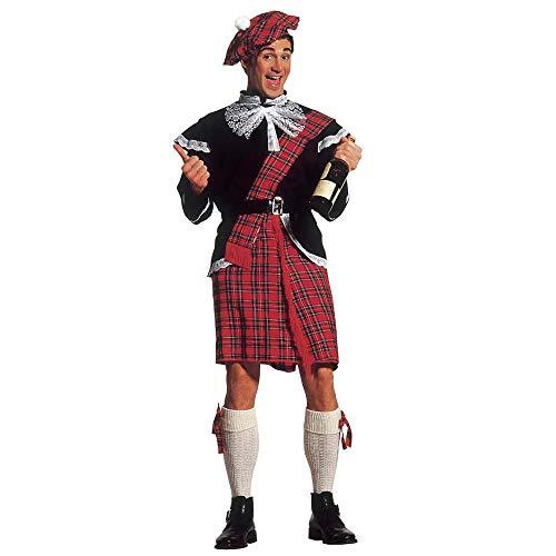 Widmann 37572 - Herren Schotten Kostüm mit Schottenrock, Größe M