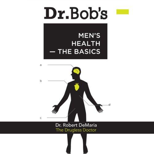 Dr. Bob's Men's Health audiobook cover art