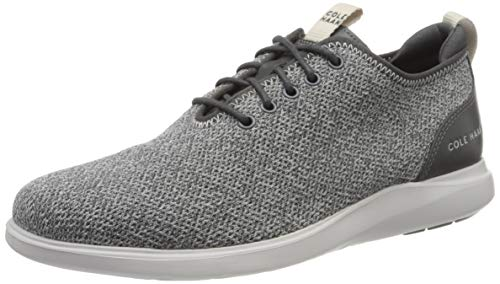 Cole Haan Herren Grand Plus Essex Distance Ox Sneaker, Grau (Nimbus Cloud Knit Nimbus Cloud Knit), 41 EU (8 M US)