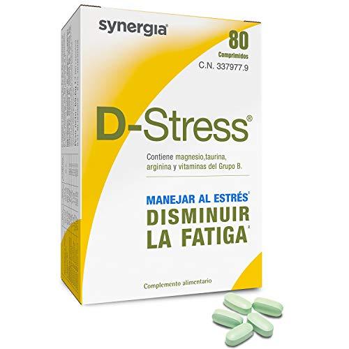 D-Stress ➠ Magnesio, taurina, arginina y vitaminas B (B6, B5, B3 y B2) altamente asimilados ➠ Origen Francia