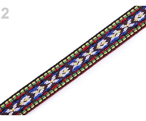 5m Bordeaux Indianer, Trim, Gemusterten Band Breite 10mm, Designs, Trimmen Bänder, Folk Schleifen Und Einsetzen Rohrleitungen, Kurzwaren