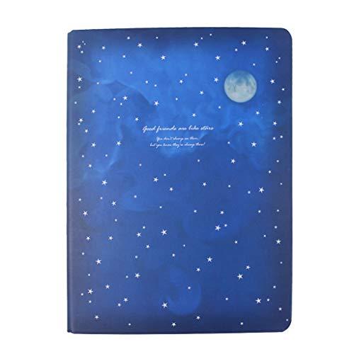 Cuadernos de redacción Universidad Regla y Revista Forrada Cuaderno A5 Gran Volumen Cuaderno de Viaje Espiral Bolsillo Duro Cubierta Diario Blocs y Cuadernos de Notas (Color : A)