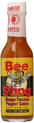 Bee Sting -- Mango & Passionsfrucht -- Hot Pepper Sauce -- 148ml -- (4)