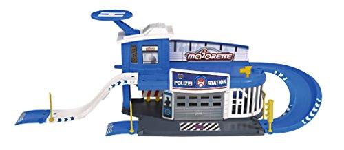 Majorette Smoby Toys–212050012038–créatix Polizei Station + 1Fahrzeug -