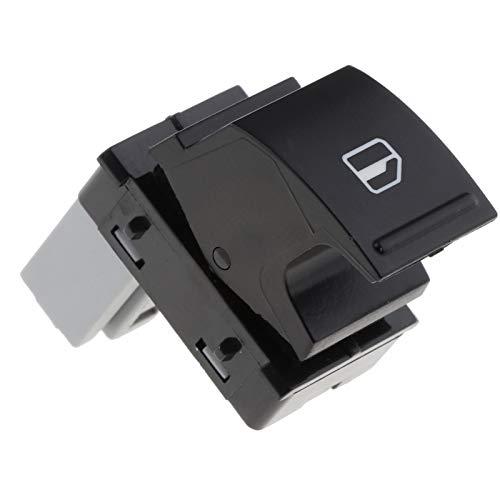 YANGYUAN Para Golf/Caddy/Passat B6 / Amarok/EOS Coche del automóvil Interruptor de la Ventana del automóvil Cara de pasajeros Galvanic Window Panel de elevación Control de Interruptor
