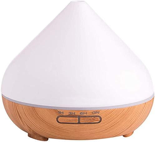 Air Humidifier Purifier Wood Grain Mini-Air Purifier for Home Bedroom, Filterless Humidifiers for Children & Elder,B