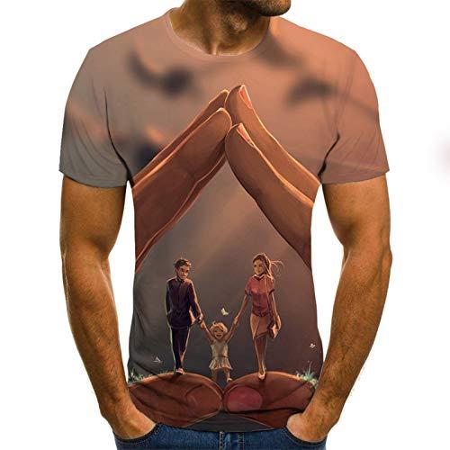 SSBZYES Camisetas para Hombre Camisetas De Manga Corta para Hombre Camisetas Estampadas para De Gran Tamaño Casual De Manga Corta Impresión De Moda En Camisetas Creativas Pintadas a Mano Tendencia