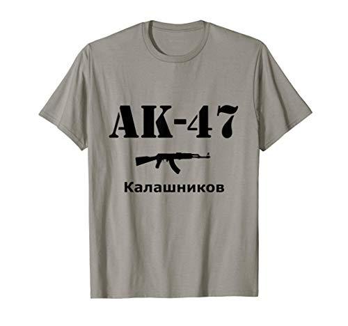 AK-47 Kalashnikov Fucile russo Maglietta