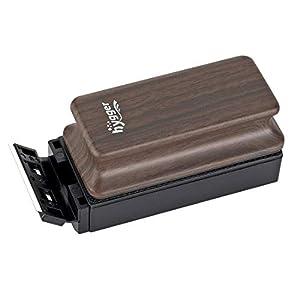 Hygger Limpiador para Acuarios, Limpiador de Vidrio Magnético con Raspador Reemplazable Limpiar Cepillo Flotante para Acuario Pecera y Algas Accesorios Limpiadores (S - 94 X 46×25mm)