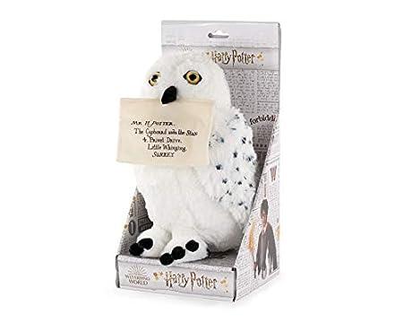 Kuscheltier Hedwig mit magnetischem Umschlag
