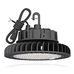 ◈ UNBEATABLE ILLUMINATION – This 150W high quality and powerful high bay light gives off industry-leading illumination! It's commercial grade compatibility and 21,000 lumens easily make this light the best choice when it comes to wide and clear illum...