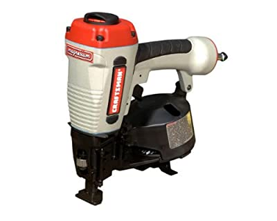 Craftsman 18180 3/4-Inch to 1-3/4-Inch Coil Roofing Nailer with Case from Bostitch