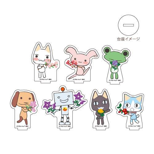 どこでもいっしょ Design produced by Sanrio 02 和柄ver. アクリルぷちスタンド BOX
