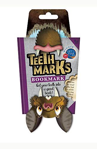 TEETH-MARKS BOOKMARKS-BAT