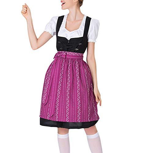 SMILEQ Jurk Dames Bier Festival Jurken Beierse Cosplay Kostuums Schort Slim Party Ball Gown Rok