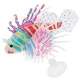 Toyvian Ornamentos de Peces Artificiales Simulación de Peces Flotantes Tanque de Acuario Decoraciones de Peces Tanque de Peces Decoración de Paisaje