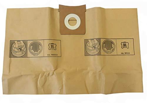 Bolsa de aspiradora compatible para Aquavac/Goblin 610 / Aqua 1000 - Titan VAC350, VAC351, TTB350, TTB430. - Bolsa de 5 bolsas de papel