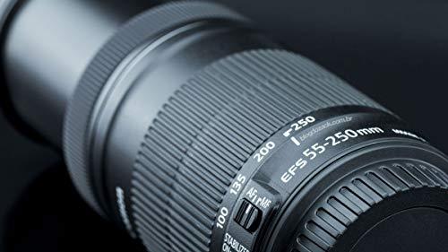 Canon - Obiettivo EF-S 55-250 mm f/4-5.6 55-250 mm  IS STM, colore: nero