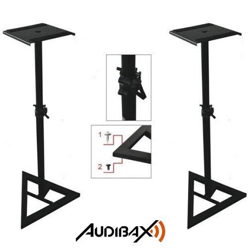 Audibax 2 Soportes Suelo para Monitor de Estudio Stand Neo SM1