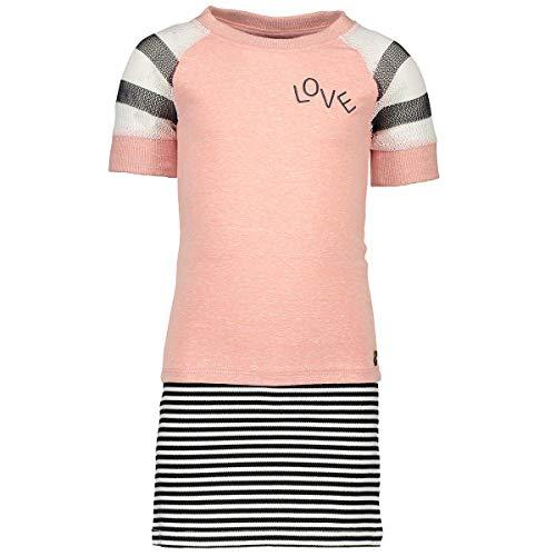 Like Flo meisjes meisjes jurk longshirt Old pink F903-5432-200