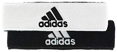 adidas Unisex Interval Reversible Headband, White/Black Black/White, ONE...