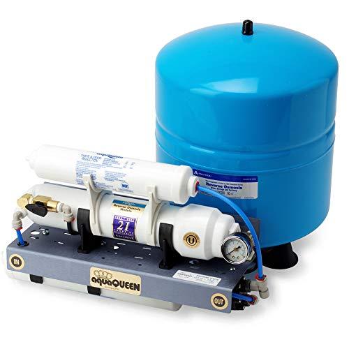 Pure H2O Sistema de purificación de agua de ósmosis inversa (RO) - Enjuague manual