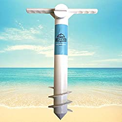 small Beachr Umbrella Anchor, one size for everything, strong wind safe stand