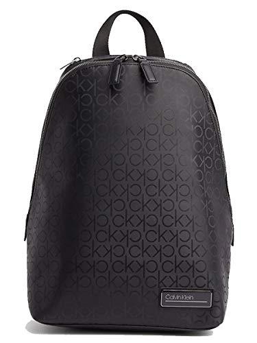 Calvin Klein Industrial Mono Round Backpack Black