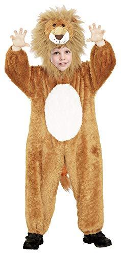 Das Kostümland Disfraz de Animal para niños - Divertido Disfraz para Carnaval, Fiesta temática y Carnaval Infantil (León, 7-9 años)