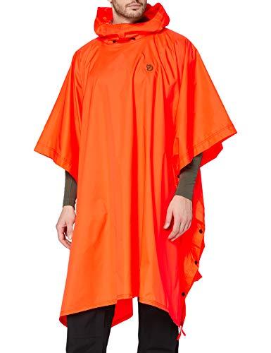 FJÄLLRÄVEN Poncho Veste de sport Safety Orange FR : Taille Unique (Taille Fabricant : 1 Size)