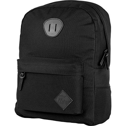 Nitro Urban Classic, Old School Daypack mit gepolstertem Laptopfach, urbaner Streetpack, Alltagsrucksack, Schulrucksack, Schoolbag, 20 L, True Black