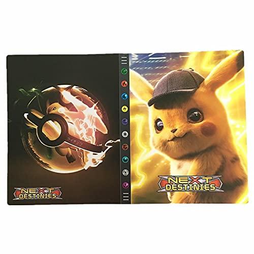 BMDHA Album Pokemon Alta capacità, Raccoglitore Carte Pokemon La Migliore Protezione Anti-smarrimento A Prova di Polvere, Raccoglitore Carte può Contenere Fino A 432 Carte