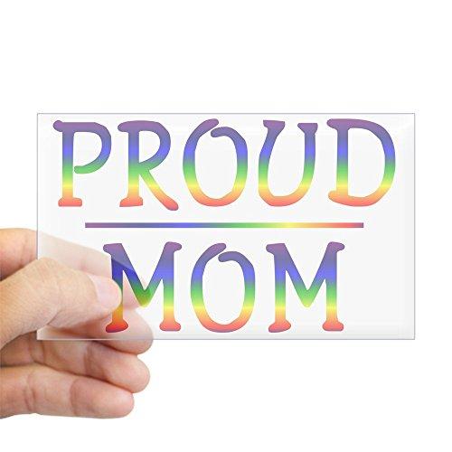 CafePress Proud Mom Rectangle Sticker Rectangle Bumper Sticker Car Decal