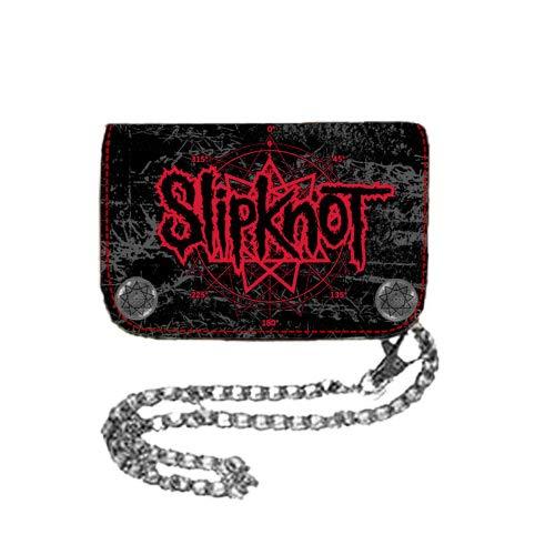 Slipknot - - Star Hinge Wallet Chain Wallet In Black, O/S, Black
