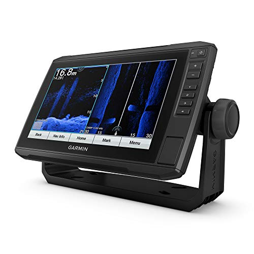 Garmin ECHOMAP UHD 94SV, 9' Keyed-Assist Touchscreen Chartplotter with U.S. BlueChart G3 and GT54UHD-TM Transducer