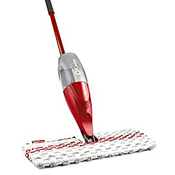 O-Cedar ProMist MAX Microfiber Spray Mop for scrubbing floors