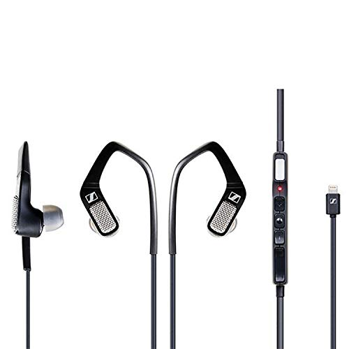 Sennheiser AMBEO Smart Headset (iOS) – in-Ear Headphones with Binaural Audio - Active Noise Cancellation, Transparent Hearing and 3D Sound Recording - Black