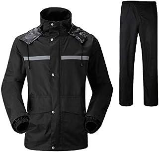 New Home Articles Durable Reflective Motorcycle Split Raincoat Pants Riding Bicycle Electric Bike Windproof Waterproof Rai...