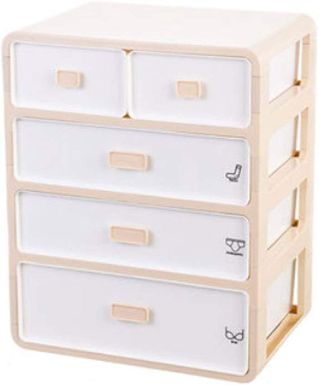 Tienda 2018 Cajón de la Caja de Almacenamiento de de de Ropa Interior Calcetines de plástico de Tres Piezas Compartimiento de la Ropa Interior Caja de Almacenamiento de la Caja de Almacenamiento de Ropa Interior  oferta de tienda