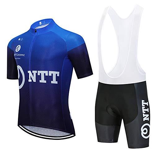 Bike Maillot de Cyclisme et Pantalon Court pour vélo de Route VTT