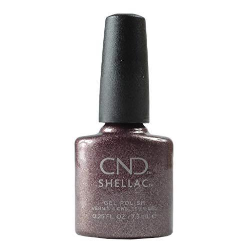 cnd at home gel nail kits CND Shellac Gel Nail Polish, Long-lasting NailPaint Color with Curve-hugging Brush, Nude/Brown/Tan Polish, 0.25 fl oz