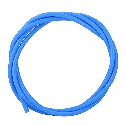 PTFE-slang 1M PTFE-buis J-kop toevoerleiding Hotend-slangextruder 3D-printeronderdeel Accessoires Levering op lange afstand gebruiksvriendelijk (blauw)