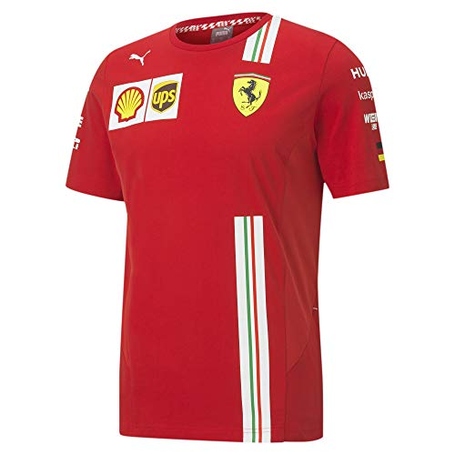 PUMA Herren Sf Vettel Replica Tee T-Shirt, Roter Corsa, XXL