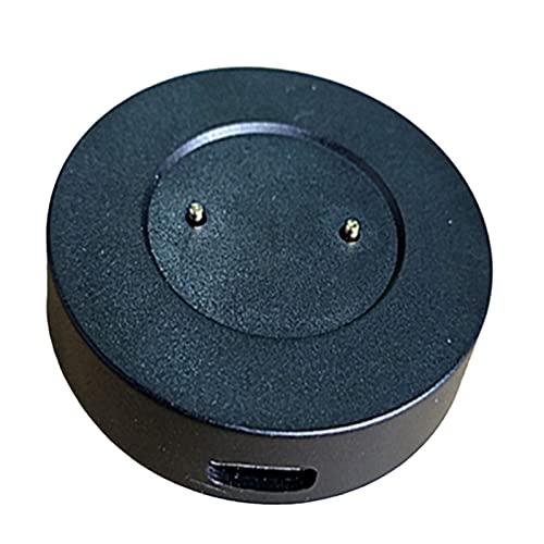 FLAMEER Base de Carga de Reloj Inteligente magnético USB de Repuesto para GT GT 2 GT 2E Honor Magic Accesorios - Negro