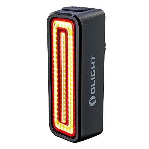 OLIGHT RN 100 TL Linterna Trasera de Bicicleta con COB LED 100 Lúmenes 12 Horas Recargable USB Potente Luz para Bicicleta con Visibilidad de 260°Sensor Inteligente Resistente al Agua IPX6 37g 8 Modos