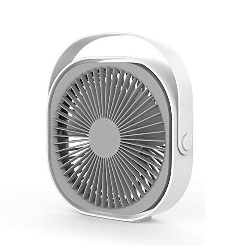 Huishoudelijke kleine ventilator, draagbare Radiator, kan 360 graden draaien Ingebouwde 2000 mAh accu met grote capaciteit, geschikt voor woonkamer, slaapkamer, Outdoor,Pink